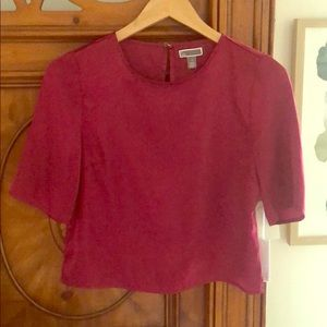 Chelsea28 cropped blouse